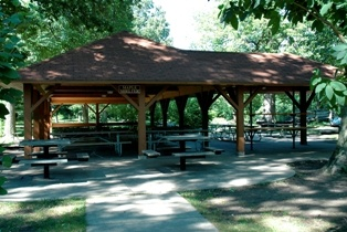 Maple Shelter in Brookside Park