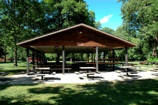 Hickory Shelter in Brookside Park