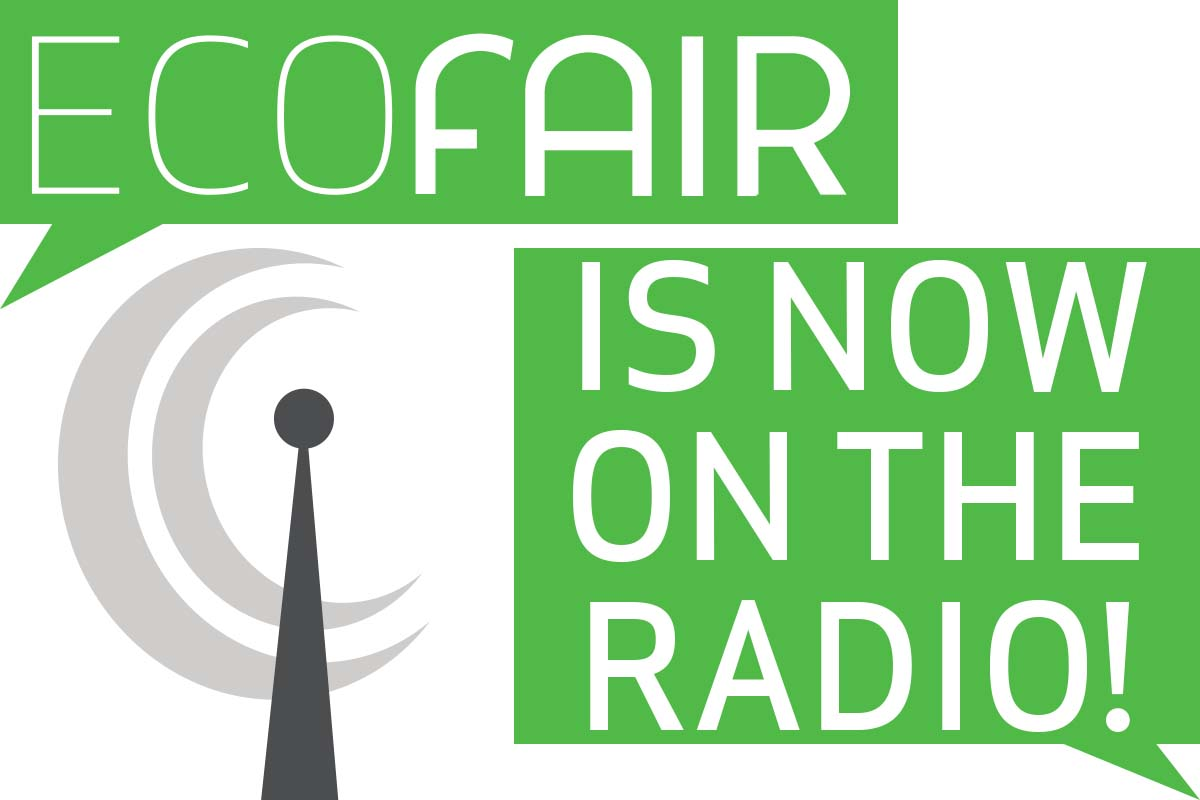 EcoFair is now on the radio graphic
