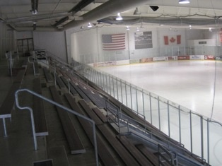 Interior of Ice Arena