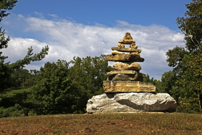 Inuksuk at Emma McCarthy Lee Park