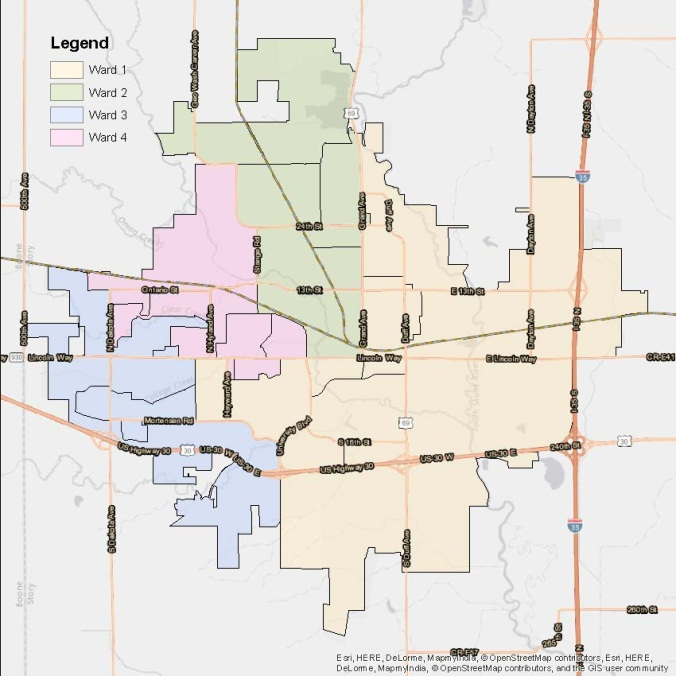 Map Of Ames Iowa Voter Information | City of Ames, IA