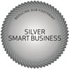 Smart Business Decal - Silver