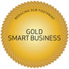 Smart Business Decal - Gold