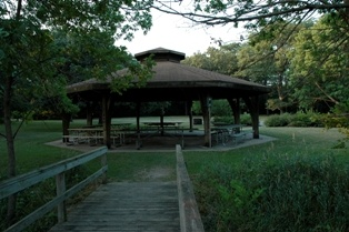 Hawthorn Shelter in River Valley Park