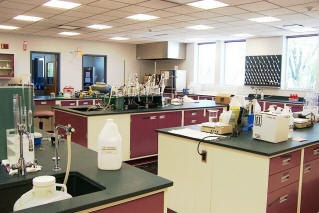 City of Ames Lab in the laboratory at 300 E. 5th Street