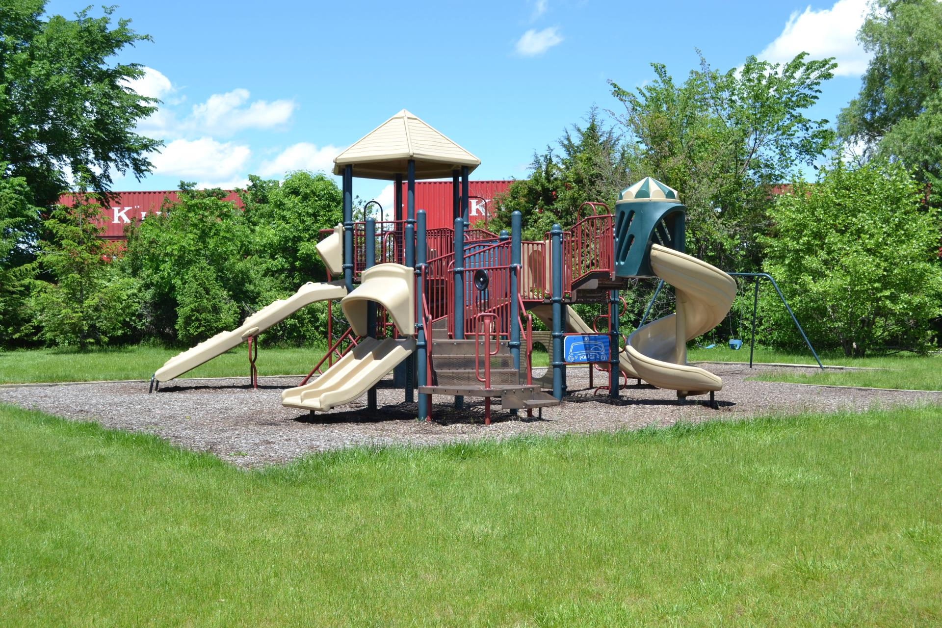 Playground equipment at Patio Homes West