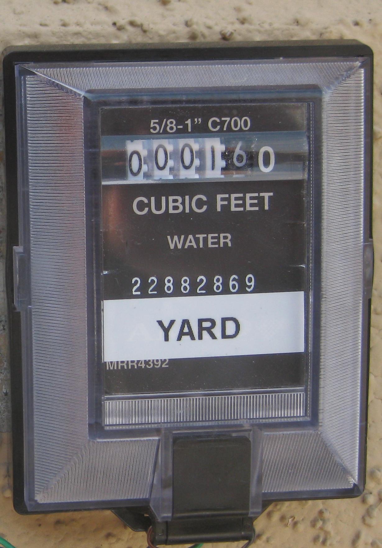 Yards Meter