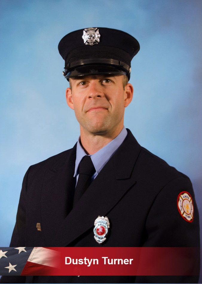 Firefighter Dustin Turner