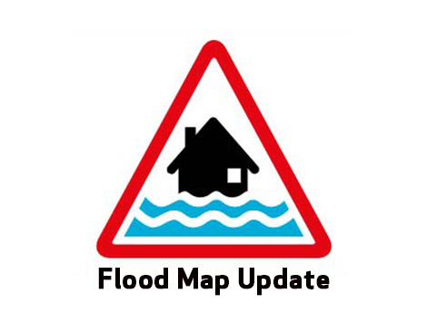 Flood Map Update Logo