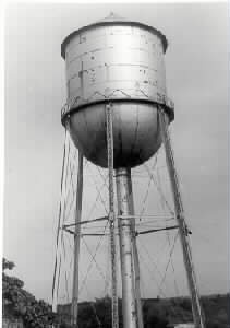 Marston Water Tower at Iowa State University