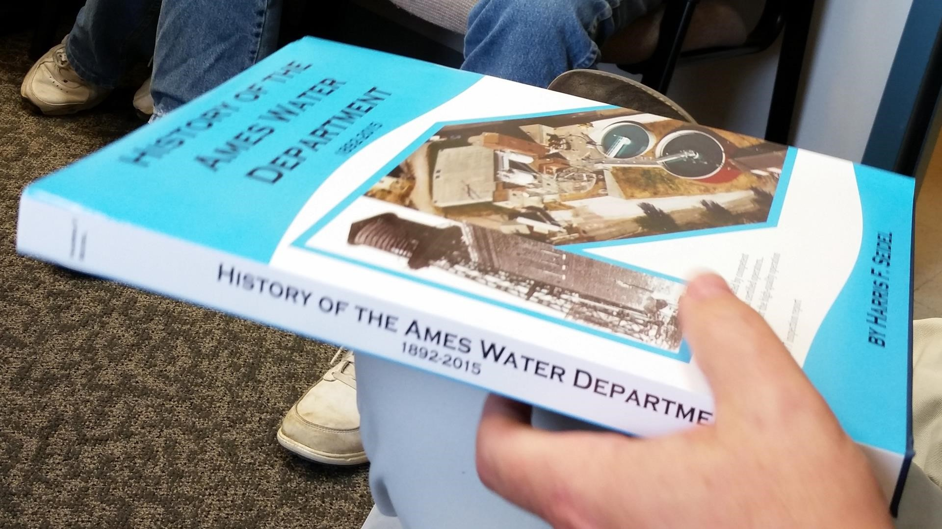 History of the Ames Water Department book