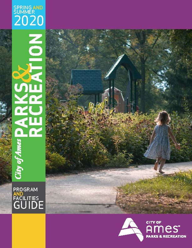 Spring Summer Parks & Rec Program Guide 2019 Cover
