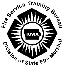Link to Fire Services Training Bureau Training Opportunities