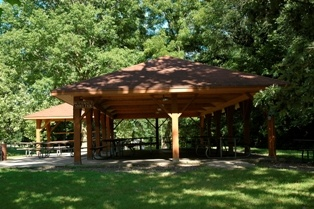 Butternut Shelter at Emma McCarthey Lee Park