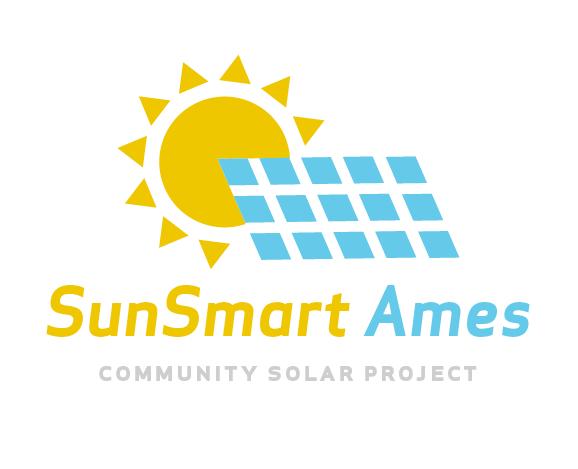 SunSmart Ames Community Solar Logo